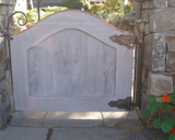 Storybook Style - Wood Garden Gate