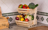 2 tier Vegetable rack medium  Classic