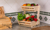 2 tier vegetable rack  small Classic