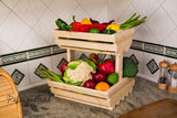 2 tier Vegetable rack Familly