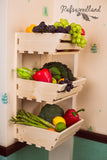 3 Tier Vegetable rack  Wall mountable Simple