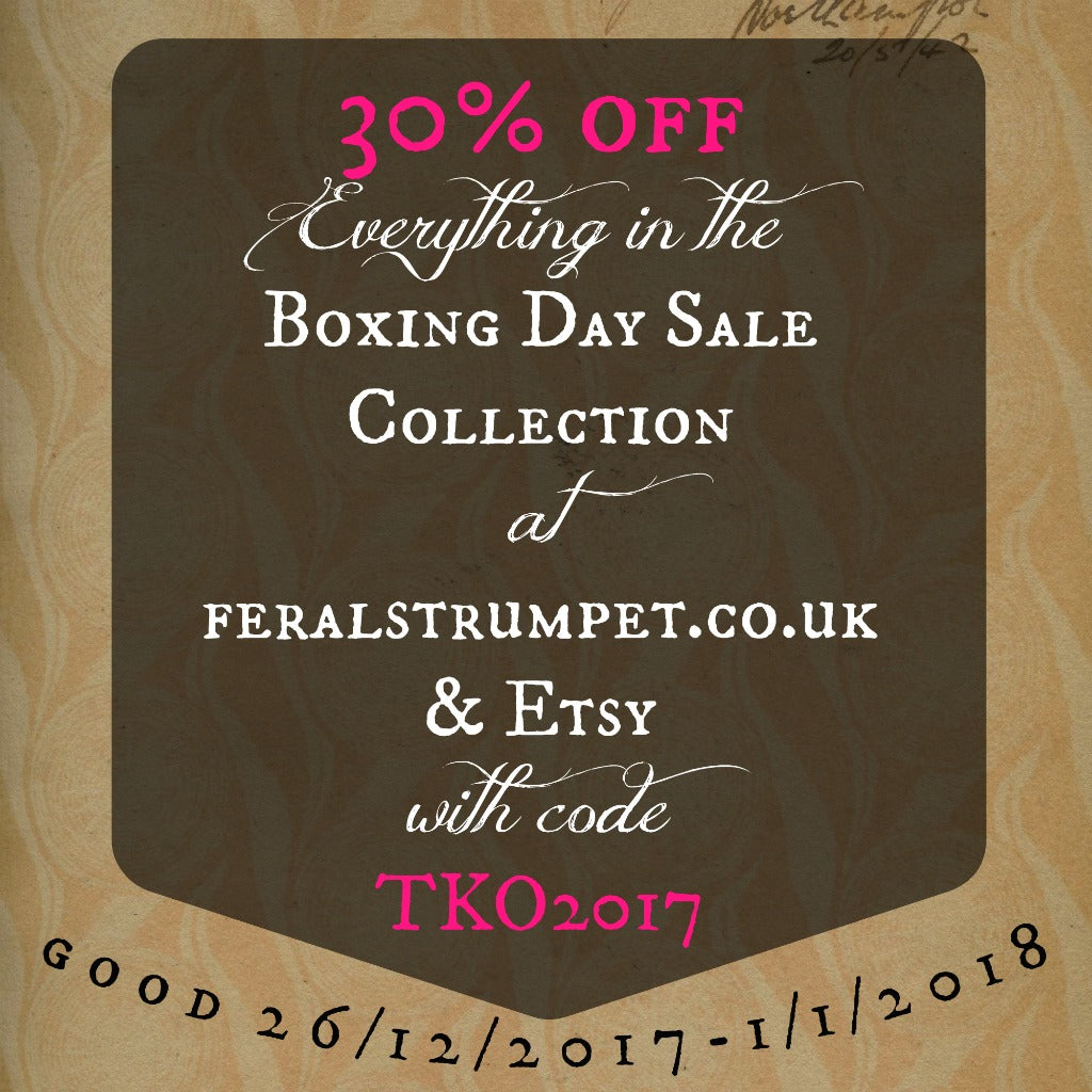 Boxing Day Sale at Feral Strumpet