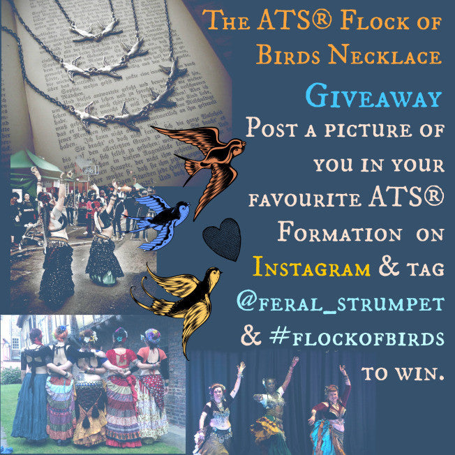 ATS® Flock of Birds Necklace Giveaway