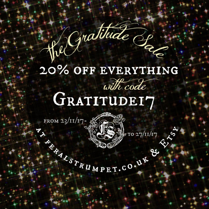 The Gratitude Sale Starts Thursday!