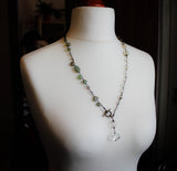 Witches Ladder Necklace Custom Pagan Rosary Necklace