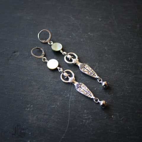 Moon Dance Goddess Earrings