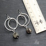 Horned Moon of Hathor Earrings.