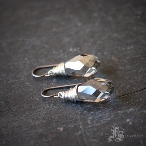 Little Nidavellir Drop Earrings.