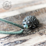 Little Toad Necklace. The Witches Familiar Pendant Necklace.