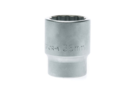 36mm 12 Point Regular Socket