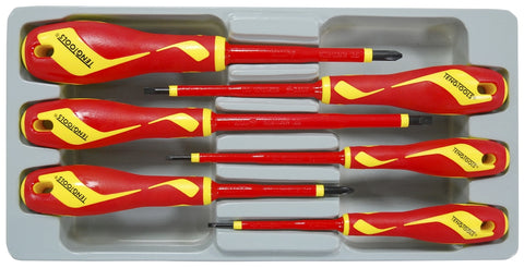 6 Piece 1000 Volt Screwdriver Set