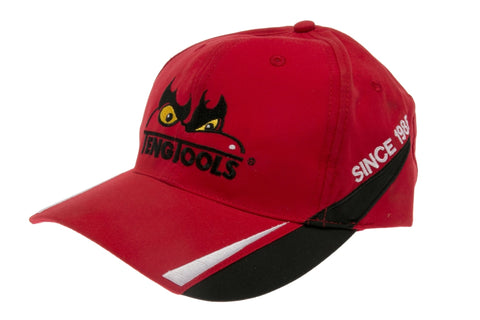 Embroidered Red Baseball Cap