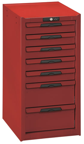 Lockable 7 Drawer Side Cabinet