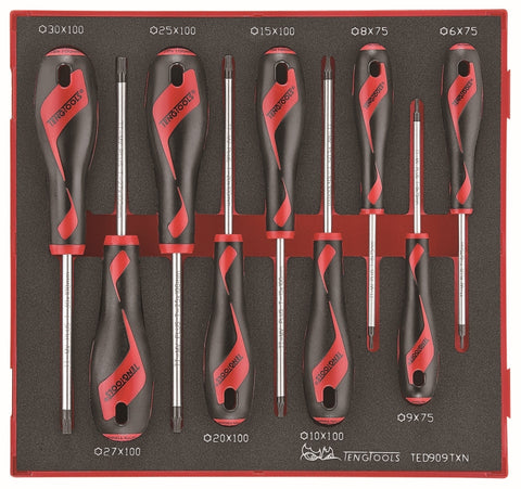 9 Piece TX Screwdriver Set