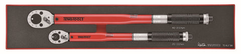 2 Piece Mixed Drive Torque Wrench Set