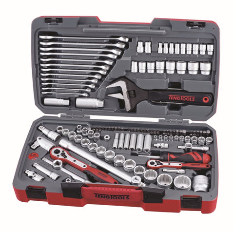 127 Piece Mixed Drive Socket & Tool Set