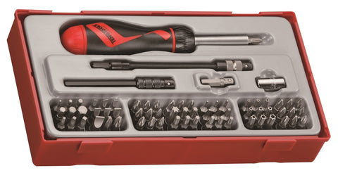 74 Piece Ratcheting Bits Driver Set
