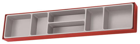 Empty 6 Compartment TTX Storage Tray