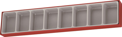 Empty 8 Compartment TTX Storage Tray