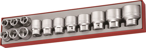 "14 Piece 3/4"" Drive Metric Socket Set"