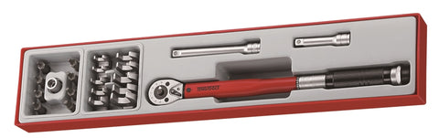 "22 Piece 3/8"" Drive Torque Wrench Set"