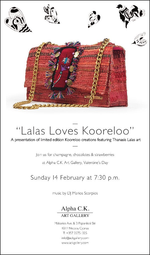 Lalas loves kooreloo collection at Alpha C. K. Art Gallery