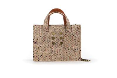 Diana Book Tote - Rose/Gold