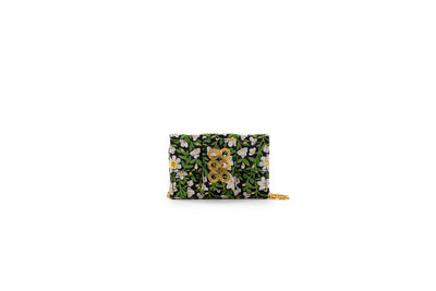 Glass Blossom Amalfi Clutch
