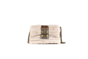 Shoulder Bag ''Meribel'' Nude F /Plaid Skerryvore