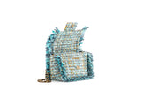Petite Pillow Mint tweed