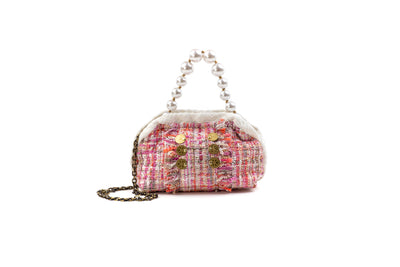 Shell The Pouch Pink Sequins