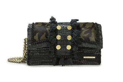 Leather Shoulder Bag - Hollywood Combat cs