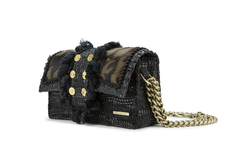 Leather Shoulder Bag - Hollywood Combat