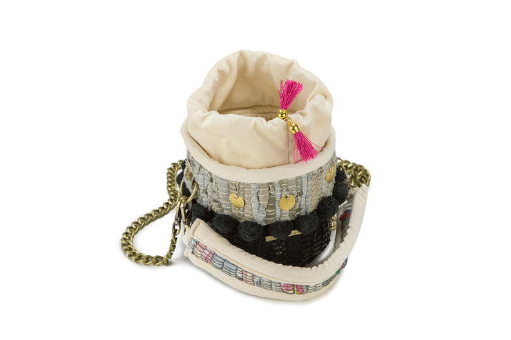 Leather Shoulder Bag - The Cupcake