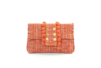 Fabric Shoulder Bag - Epiphany Pouch 'Capulet' Pumpkin