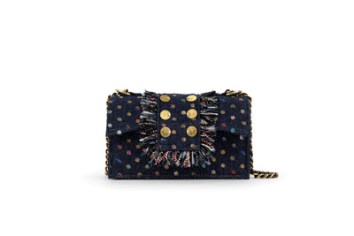 Fabric Shoulder Bag - New Yorker Soho Denim