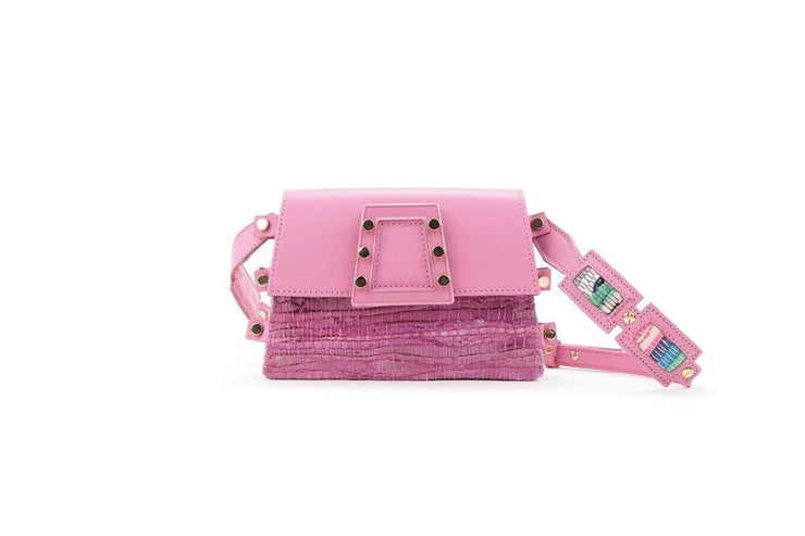 Leather Belt Bag - Ersilia Pink