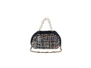 Shell The Pouch Blue/Black sequins