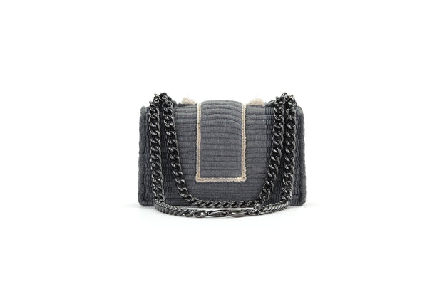 Fabric Shoulder Bag - New Yorker Soho Grey