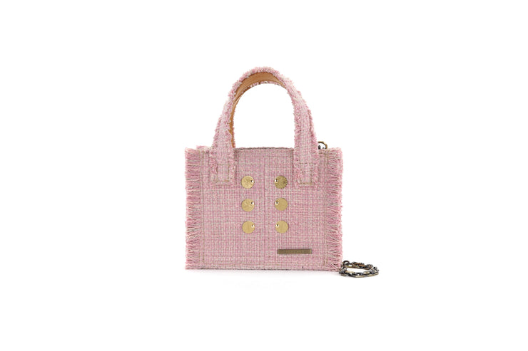 Fabric Shoulder Bag - Epiphany Tote Baby Pink cs