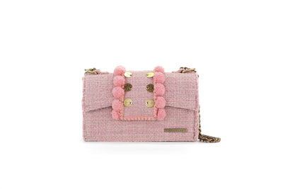 Fabric Shoulder Bag - Epiphany Romeo Baby Pink