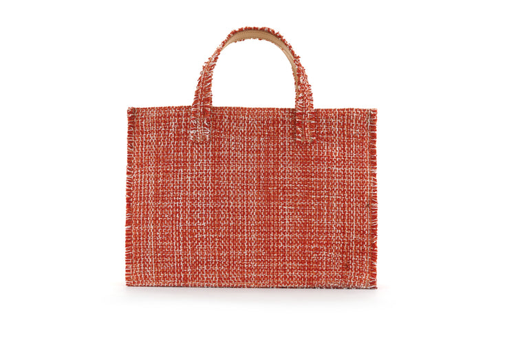 Fabric Book Tote - Epiphany Pumpkin cs