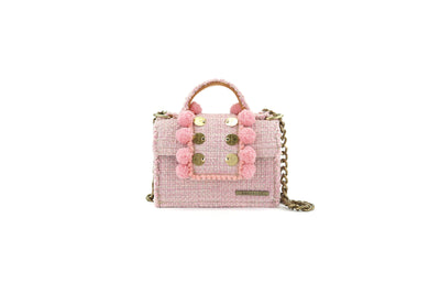 Fabric Shoulder Bag - Epiphany Petite Juliet Baby Pink
