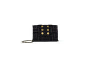 Clutch Pixel Black tweed