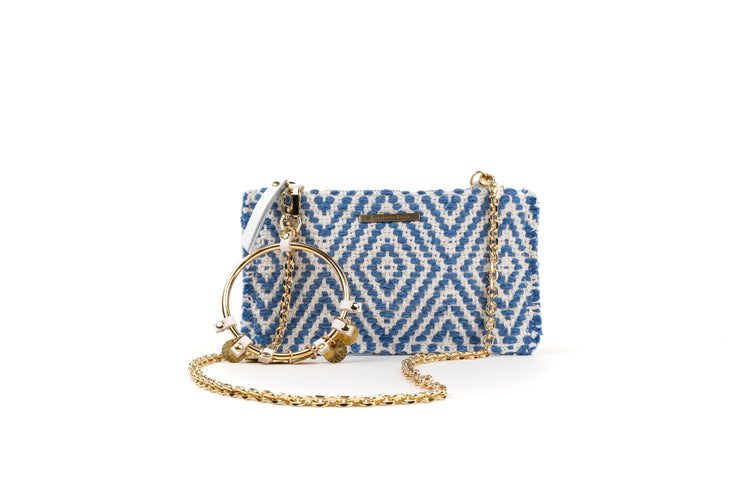 Fabric Pochette - Looloo Cali Blue