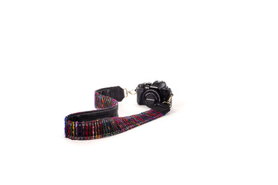Guitar Strap Multi Black
