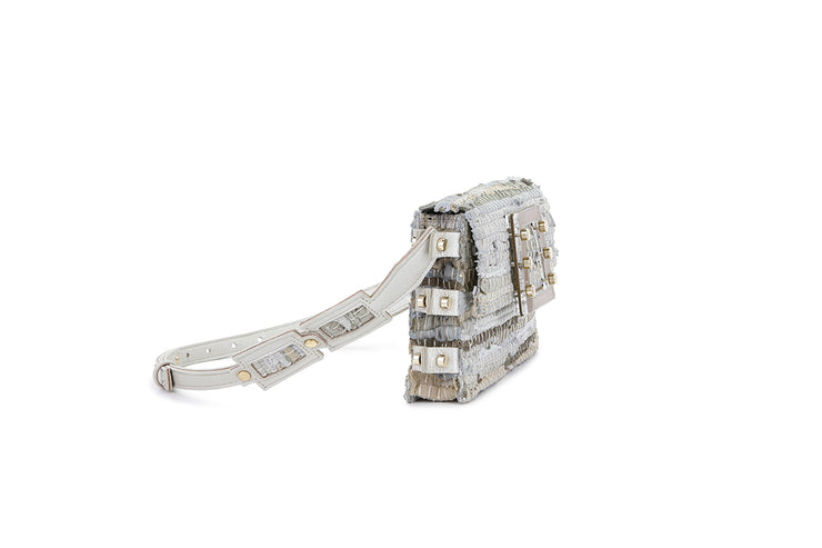 Leather Belt Bag - Ersilia Off-white