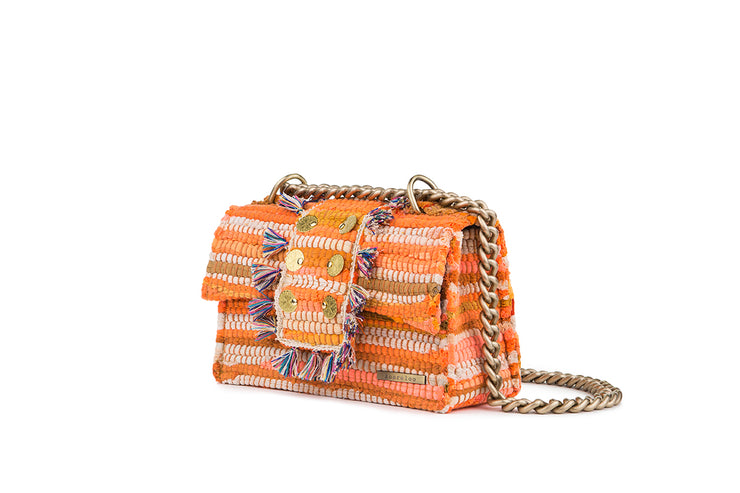 Fabric Shoulder Bag - New Yorker Soho Orange