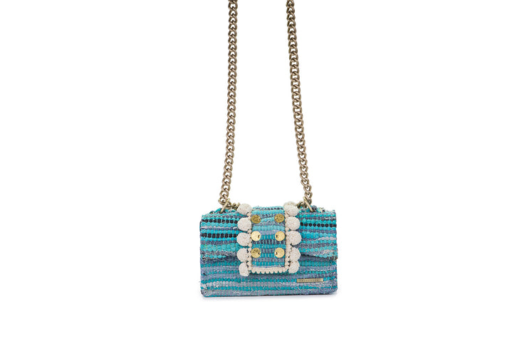 Fabric Shoulder Bag - New Yorker Soho Petrol Jeans