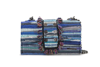 Fabric Shoulder Bag - New Yorker Aegean Blue